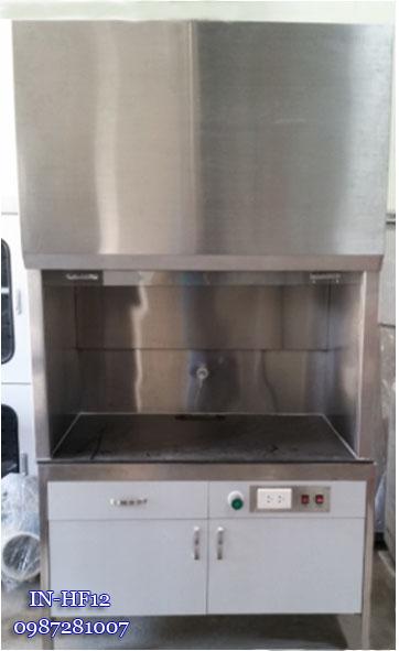 Tủ hút khí độc Inox IN-FH12