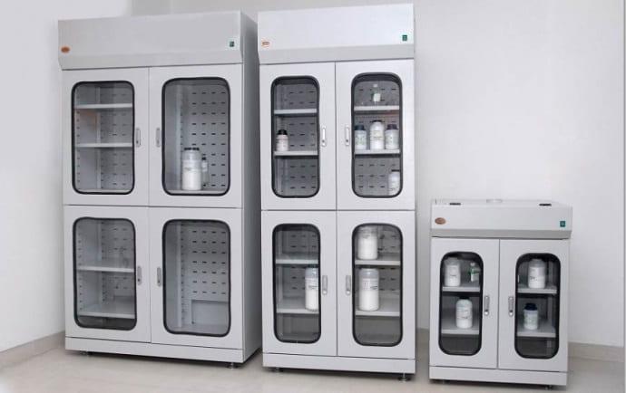 Bộ tủ đựng hóa chất có lọc hấp thu