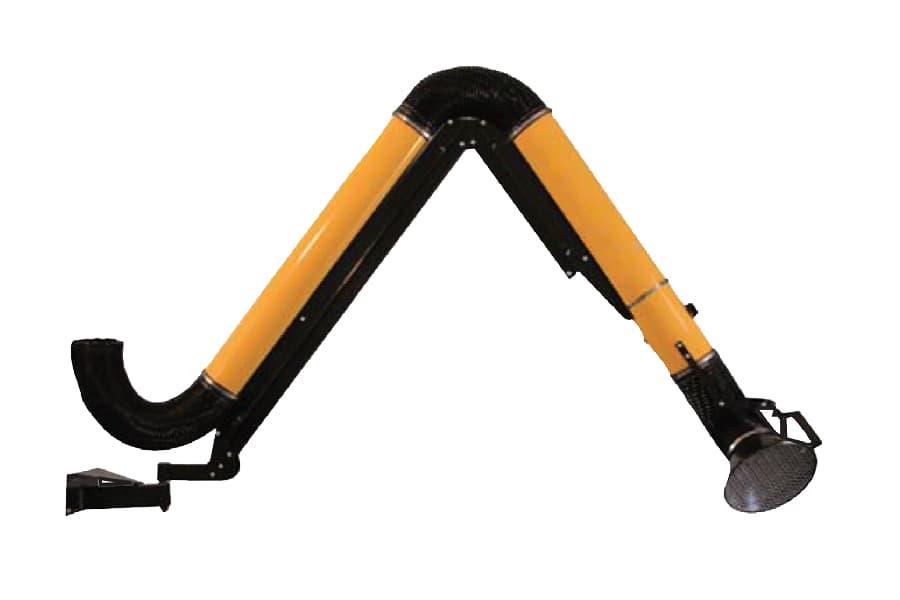 Cánh tay chiết linh hoạt với ống hợp kim để hàn CLE