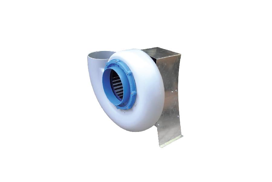 Quạt hút PP đầu vào với bộ giảm chấn và động cơ VSB30