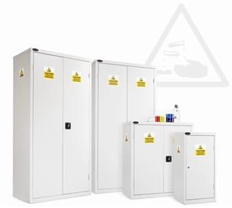 Tủ thí nghiệm lưu trữ kiềm và axit flohydric